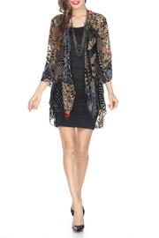 Aris A Burnout Velvet Jacket - Product Mini Image