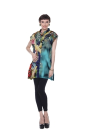 Aris A Floral Button-Up Tunic - Product Mini Image