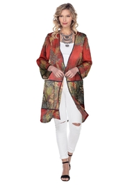 Aris A Floral Chiffon Duster - Product Mini Image