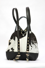 Arisch B/w Mary Backpack - Side cropped