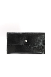 Arisch Black Leather Pocketbook - Product Mini Image
