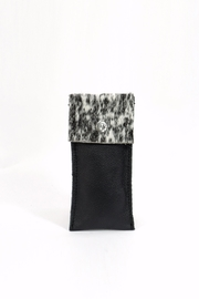 Arisch Black Vertical Purse - Front cropped