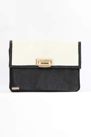 Arisch Black White Isabel Clutch - Product Mini Image