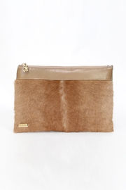 Arisch Brown Clutch - Product Mini Image