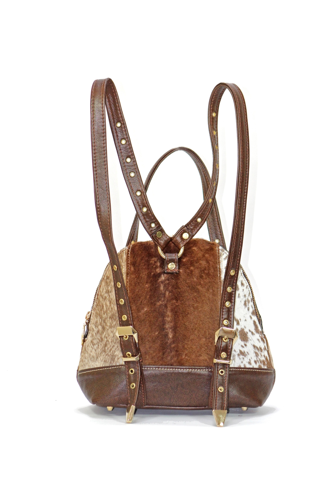 Arisch Brown Mary Backpack - Front Full Image