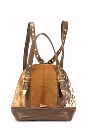 Arisch Brown Mary Backpack - Front cropped
