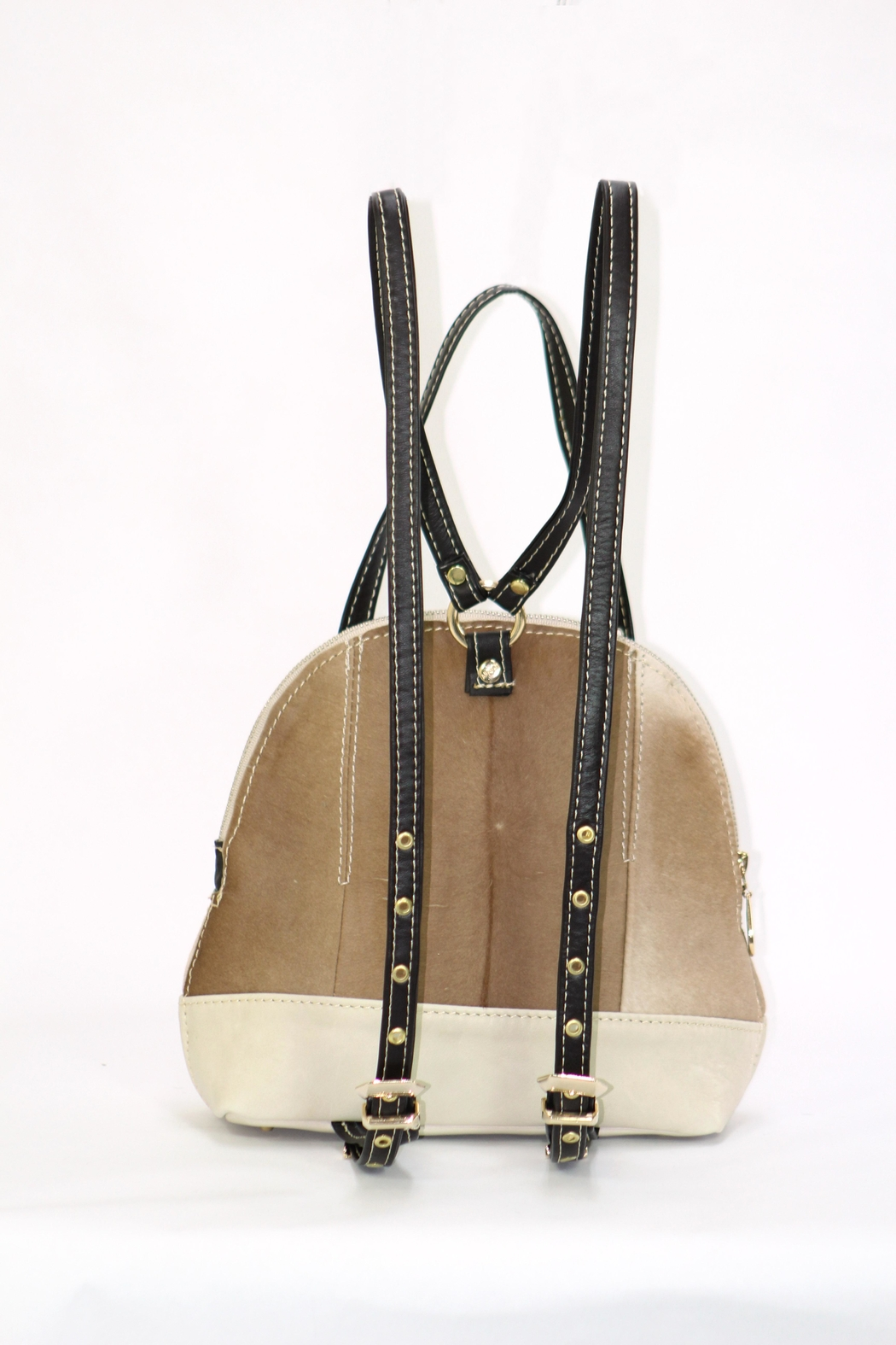 Arisch Cream Jane Backpack - Front Full Image