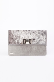Arisch Gray Isabel Clutch - Product Mini Image