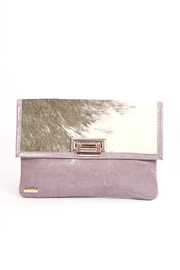 Arisch Lilac Isabel Clutch - Front cropped