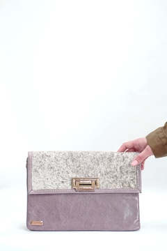 Arisch Lilac Isabel Clutch - Product List Image