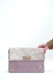 Arisch Lilac Isabel Clutch - Product Mini Image