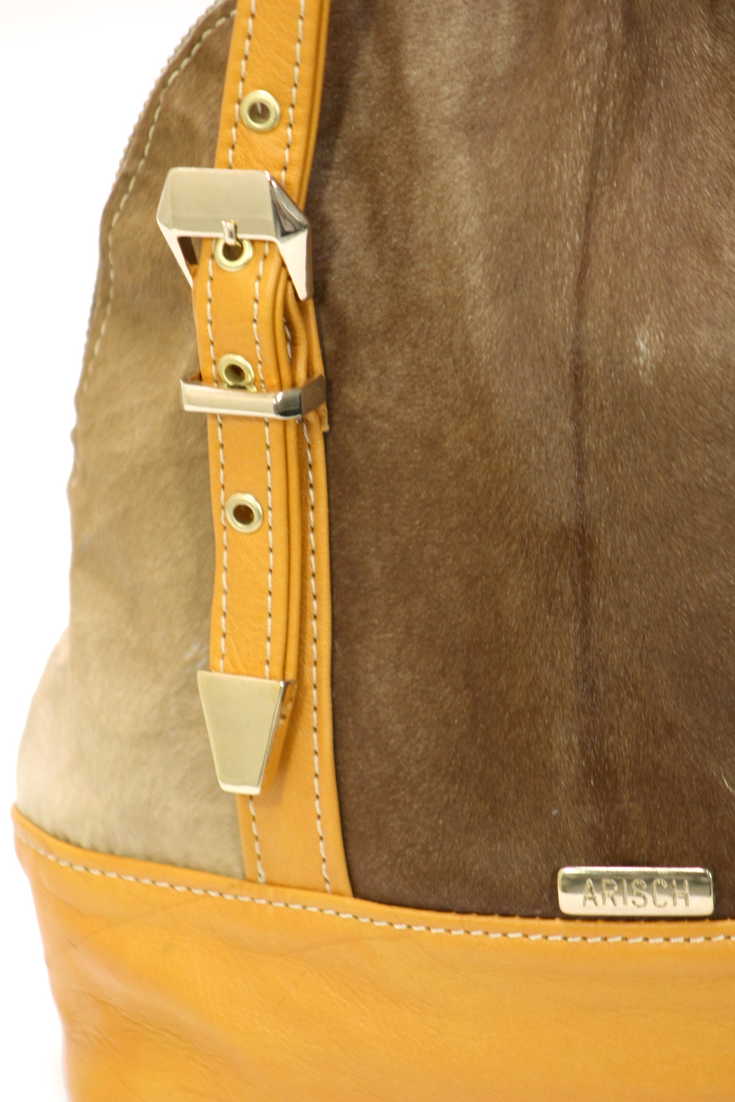 Arisch Mary Leather Backpack - Side Cropped Image