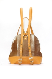 Arisch Mary Leather Backpack - Front full body
