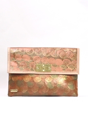 Arisch Orange Specks Clutch - Product Mini Image