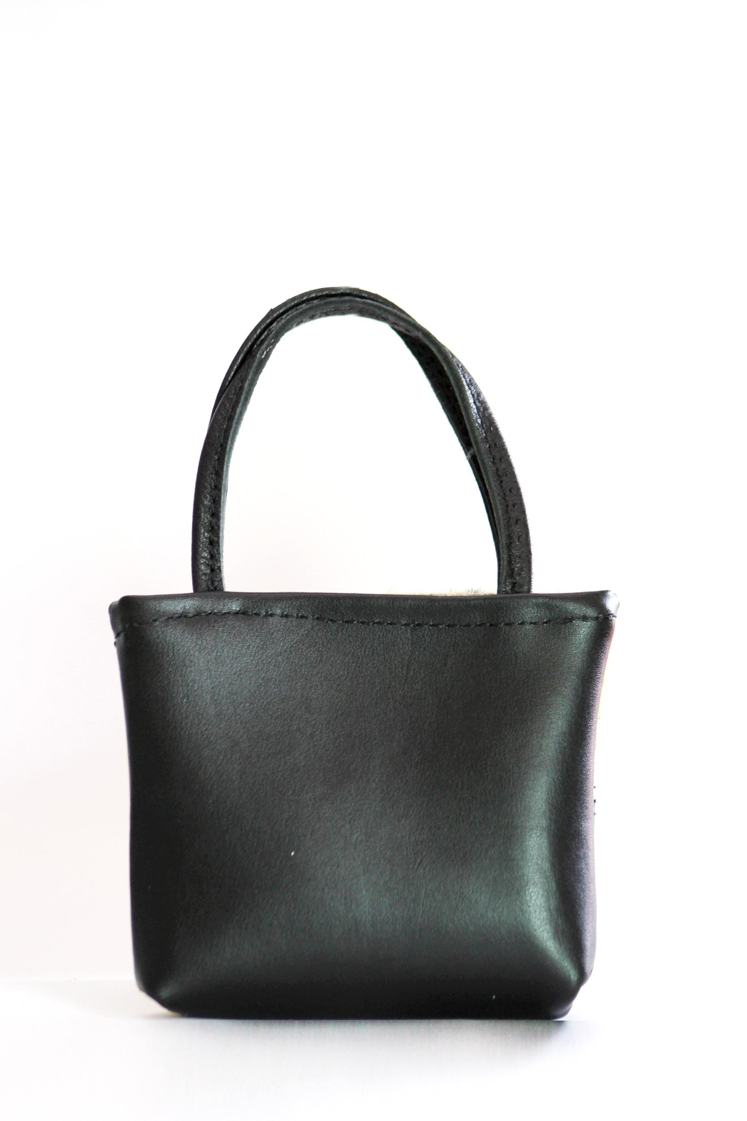 Arisch Patch Leather Bag - Front Full Image