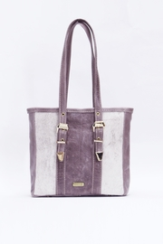 Arisch Rebe Lila Mini Tote - Front cropped