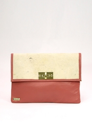 Arisch Salmon Isabel Clutch - Product Mini Image
