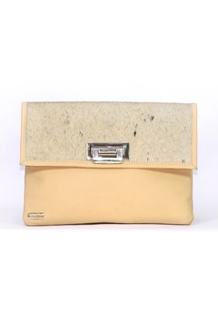 Shoptiques Product: Yellow Isabel Clutch