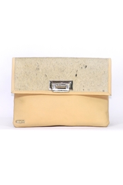 Arisch Yellow Isabel Clutch - Product Mini Image