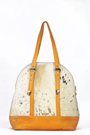 Arisch Yellow Leather Maria Bag - Product Mini Image