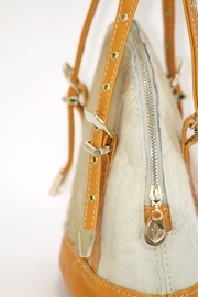 Arisch Yellow Mini Mary Bag - Back cropped