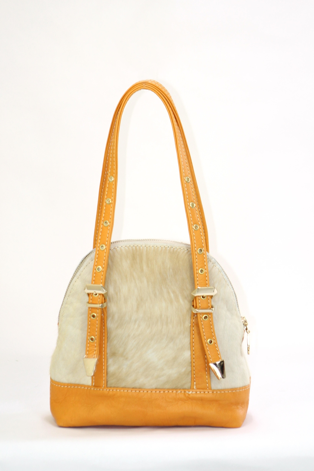 Arisch Yellow Mini Mary Bag - Front Full Image