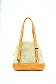 Arisch Yellow Mini Mary Bag - Front cropped