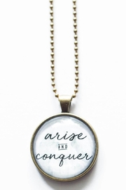 The Vintage Sparrow Arise & Conquer Necklace - Front cropped