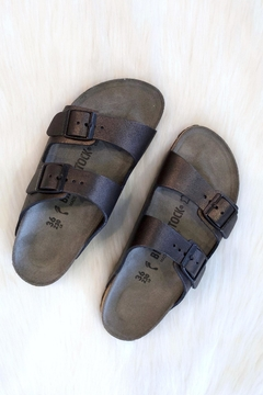 Birkenstock Arizona Washed Metallic - Alternate List Image