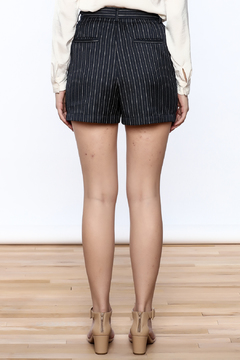 Shoptiques Product: High-Waisted Striped Shorts
