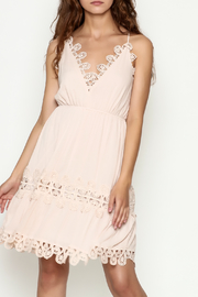 Ark & Co. Crochet Dress - Front cropped