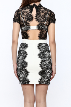 Ark & Co. Sheer Top Lace Dress - Alternate List Image