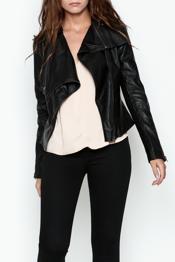 Ark & Co. Faux Leather Rider Jacket - Main Image