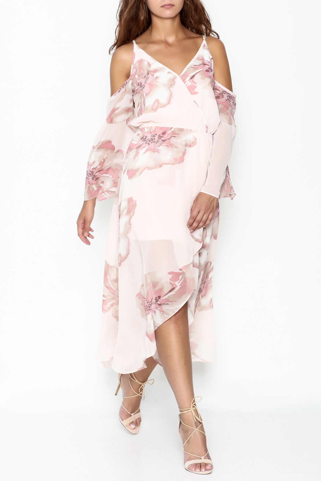 Ark & Co. Floral Maxi Dress - Front Cropped Image