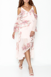 Ark & Co. Floral Maxi Dress - Front cropped