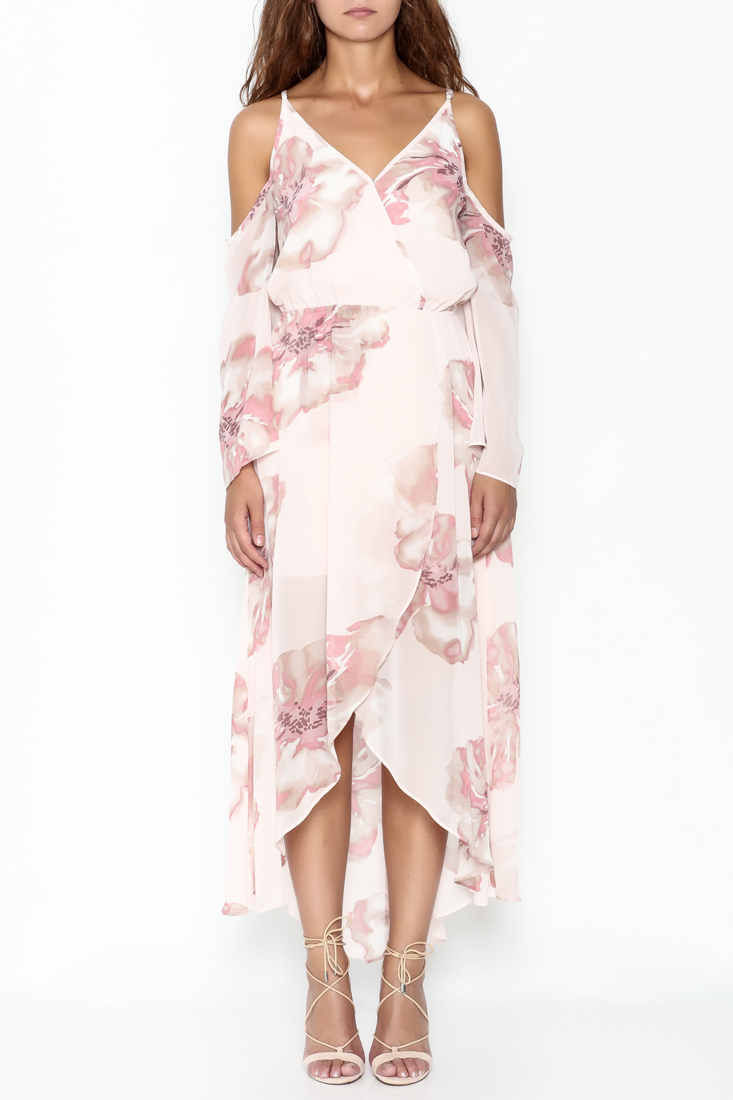 Ark & Co. Floral Maxi Dress - Front Full Image
