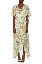 Ark & Co. Floral Wing Maxi Dress - Front cropped