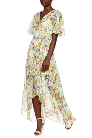 Ark & Co. Floral Wing Maxi Dress - Front full body
