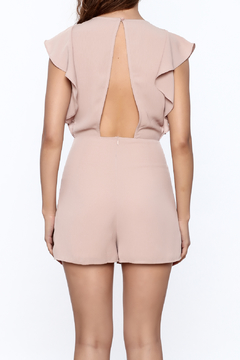 Ark & Co. Flutter Sleeve Romper - Alternate List Image