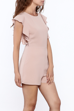 Ark & Co. Flutter Sleeve Romper - Product List Image