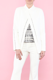 Ark & Co. White Open Type Jacket - Product Mini Image