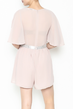 Ark & Co. Jewel Waist Romper - Alternate List Image