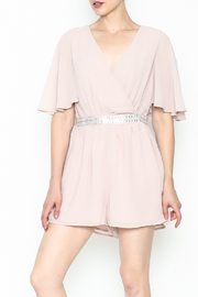 Ark & Co. Jewel Waist Romper - Product Mini Image