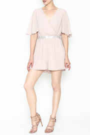 Ark & Co. Jewel Waist Romper - Side cropped