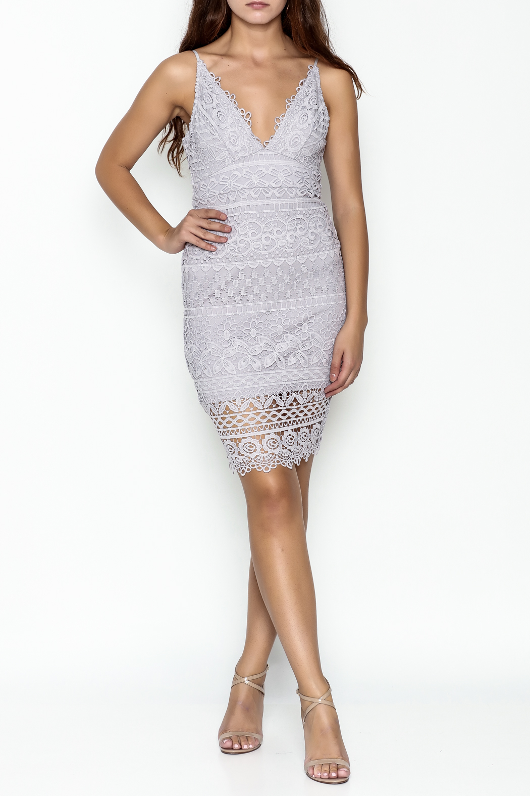 Ark & Co. Lace Dress - Side Cropped Image