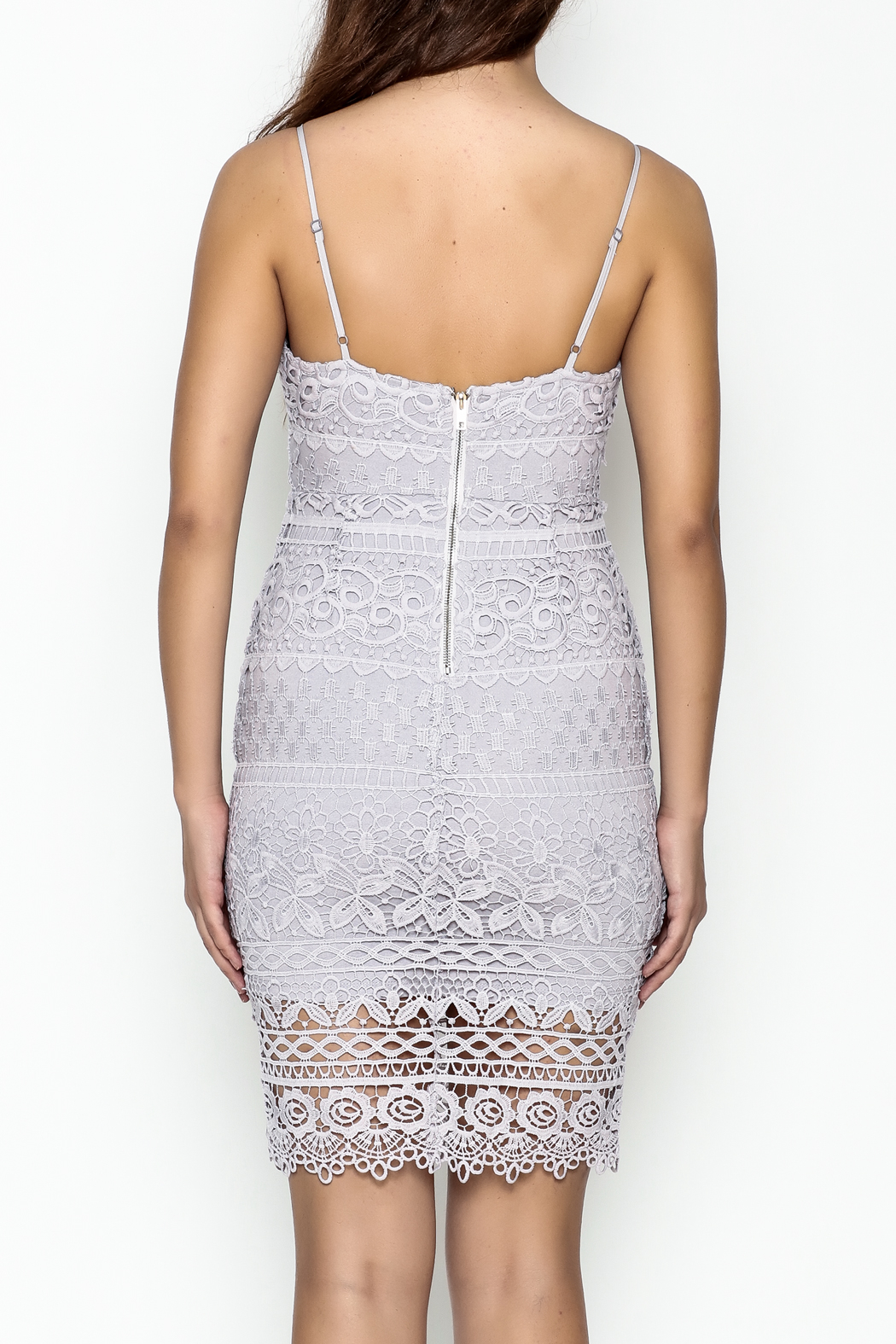 Ark & Co. Lace Dress - Back Cropped Image