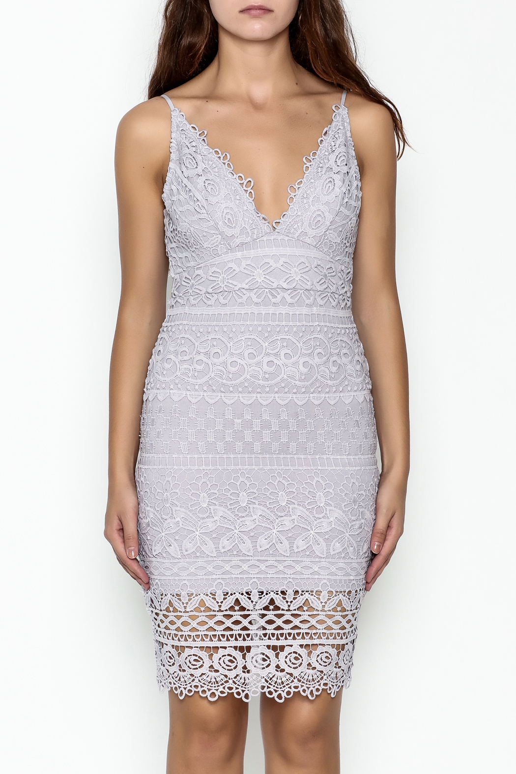 Ark & Co. Lace Dress - Front Full Image