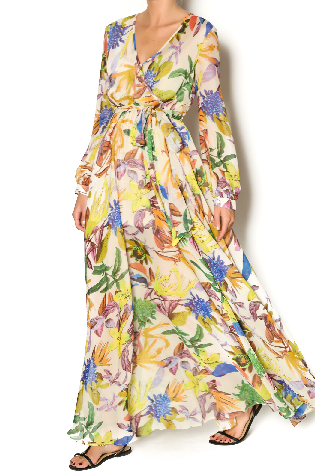 Ark and co yellow dress