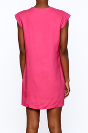 Ark & Co. Pink Tunic Dress - Back cropped