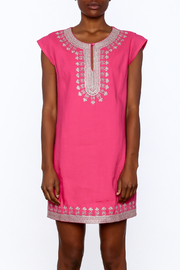 Ark & Co. Pink Tunic Dress - Side cropped